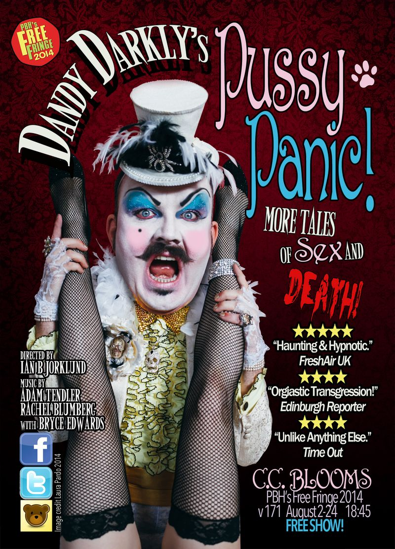 Dandy Darkly Ed Fringe 2014